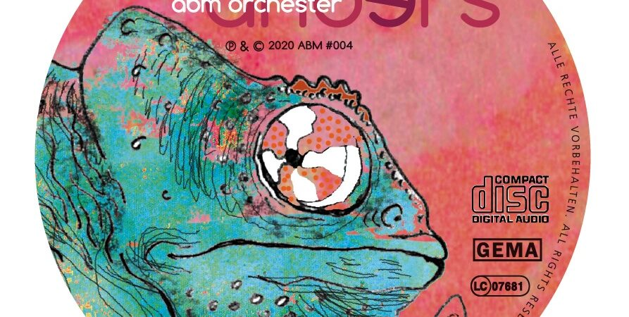 """ABM-Orchester """"anders"""" 2020 CD-Aufdruck"""